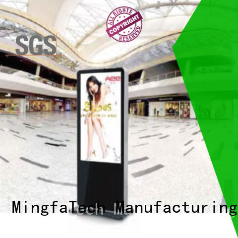 Mingfa Tech digital signage personalized for indoor