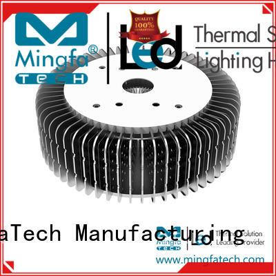 Mingfa Tech architectural extruded aluminum heatsink manufacturer for station