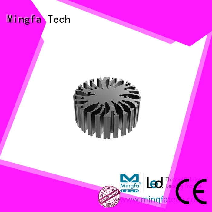 extruded heat sink heatsink extruded cylindrical cob led light manufacture
