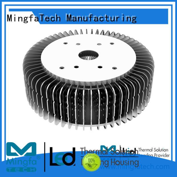 Mingfa Tech area led bulb heat sink supplier for station