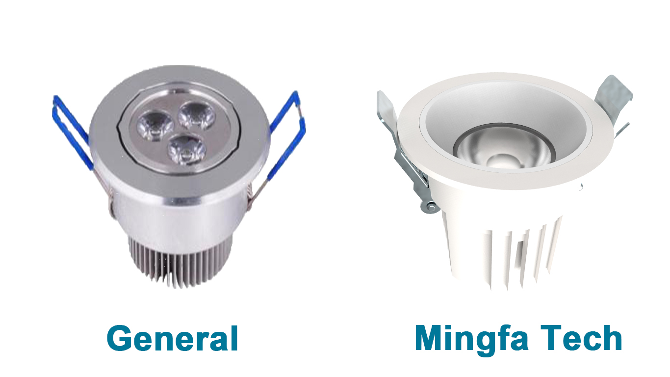 Mingfa Tech-Led Recessed Housing | 251130114011 Die-casting Led Lighting kits-13