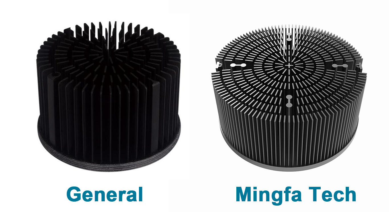 heatsink heat sink fin design pin cold Mingfa Tech Brand