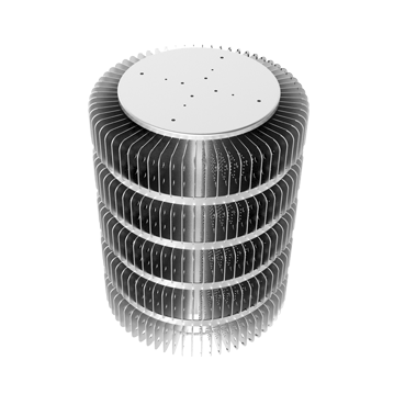 Mingfa Tech hibayled265130265195265260 extruded aluminum heatsink design for station-1