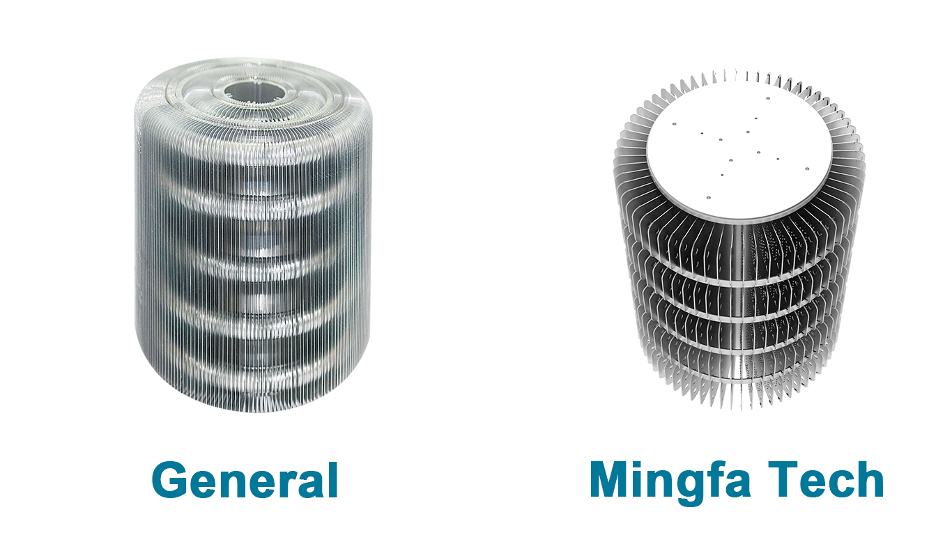 Mingfa Tech-300w Led Heatsink | clear anodized AL1070 hibay LED heat sinks-1