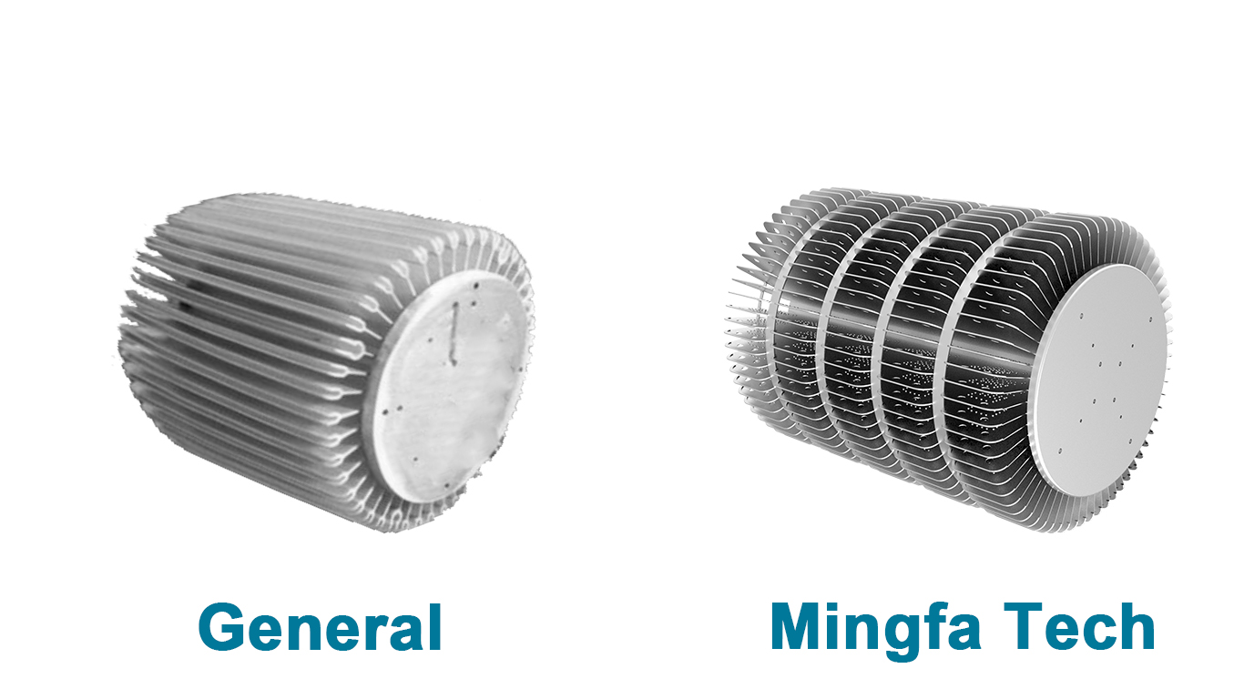 Mingfa Tech-300w Led Heatsink | clear anodized AL1070 hibay LED heat sinks-2