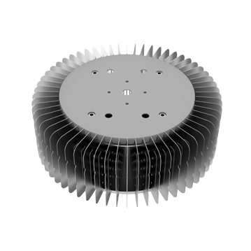 Mingfa Tech hibayled24088 extruded aluminum heatsink supplier for indoor-1