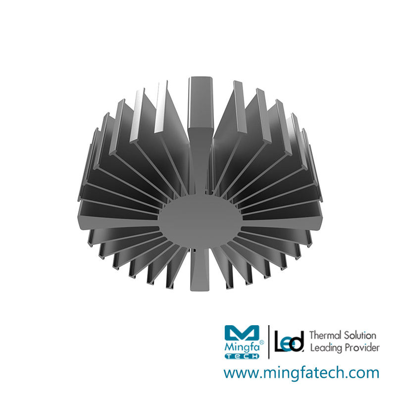 painting large heat sink customize for bedroom-Mingfa Tech-img