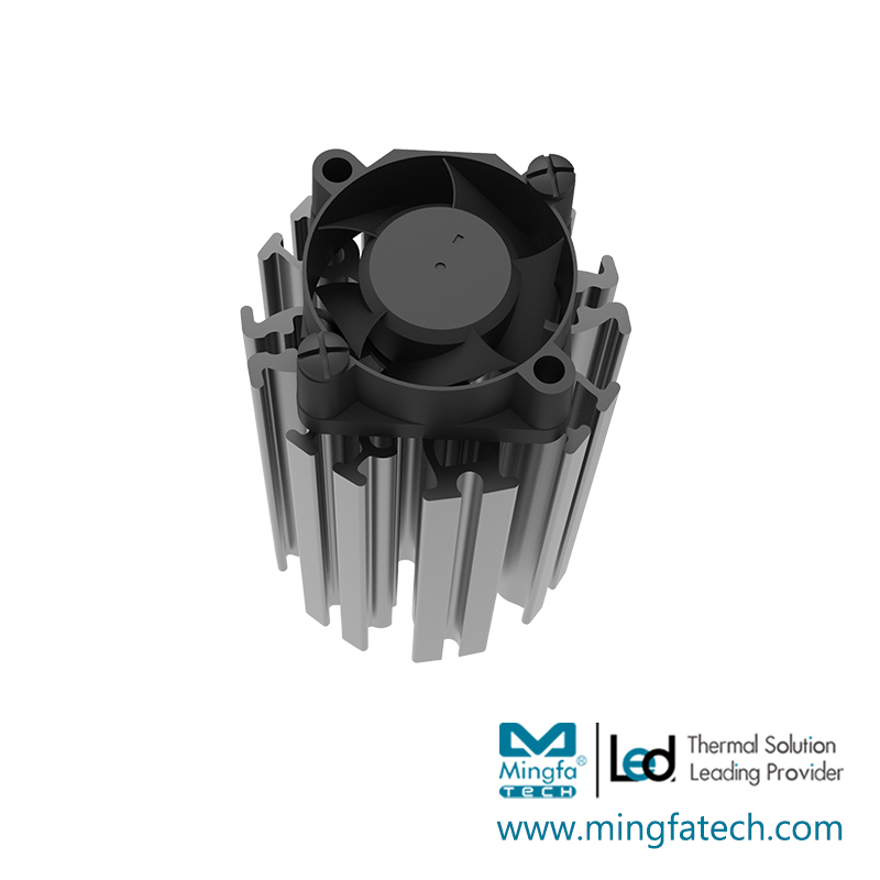 Mingfa Tech-ActiLED-F3865 active aluminum extruded heat sink-1