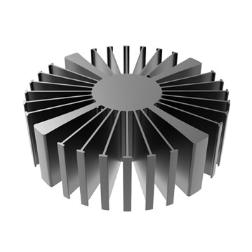 Mingfa Tech-Simpoled-16050160100160150 Black Anodized extruded heatsink-3