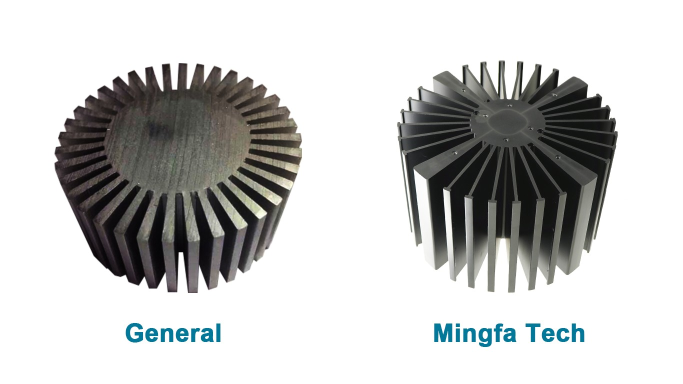 Mingfa Tech-Simpoled-16050160100160150 Black Anodized extruded heatsink-5