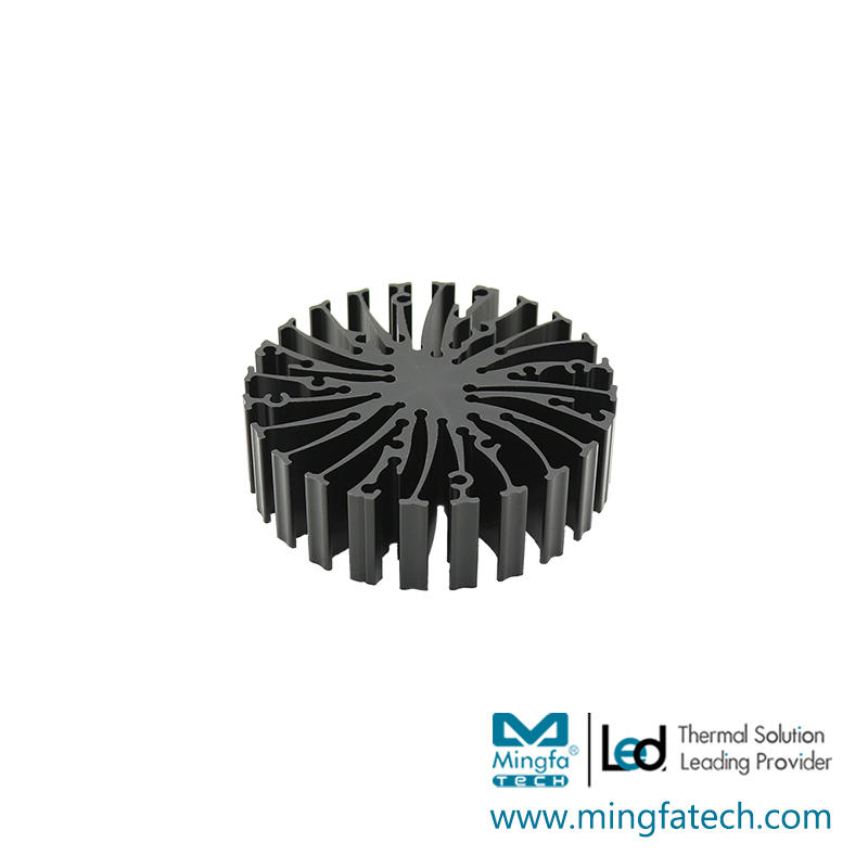 EtraLED-7020/7050/7080 led extruded AL6063-T5 star heat sink