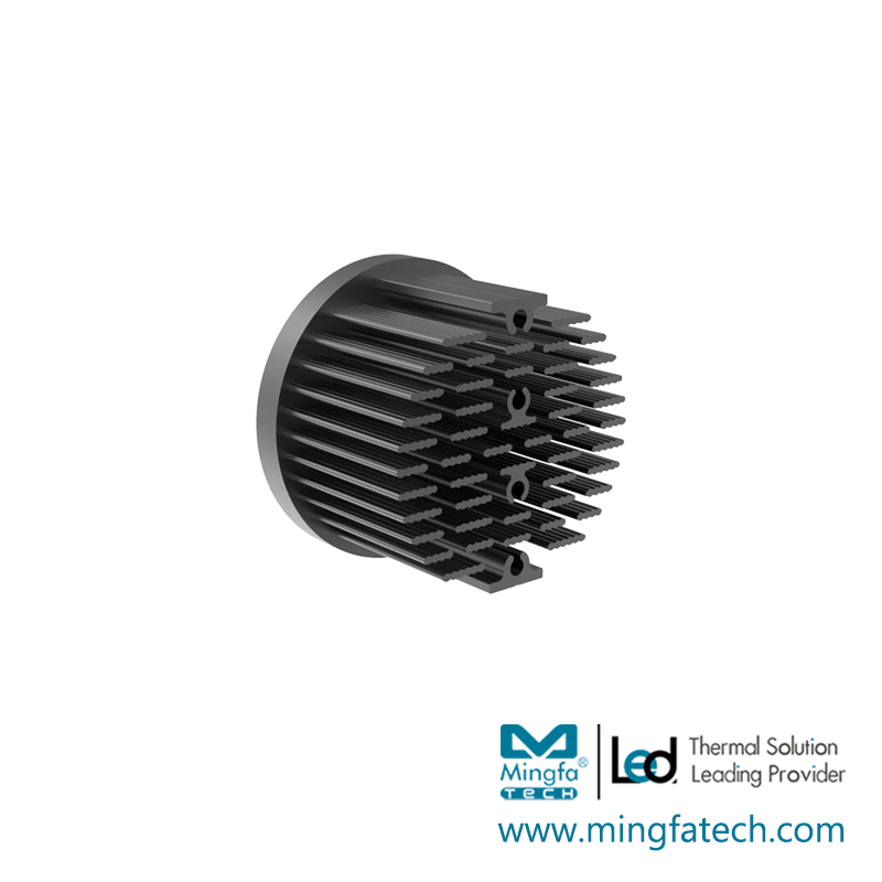 Mingfa Tech-Best Round Heat Sink Xled-453045504568 Passive Cold Forging Pin Fin Coolers