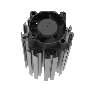 Mingfa Tech-ActiLED-F3830F3860 active aluminum extruded heat sink on MINGFA-1