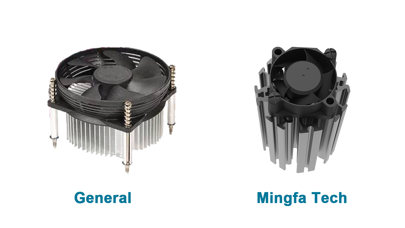 Mingfa Tech-ActiLED-F3830F3860 active aluminum extruded heat sink on MINGFA-2