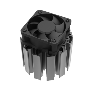 Mingfa Tech-High-quality Active Heat Sink | Actiled-f7040f7070 Active Cooling-1