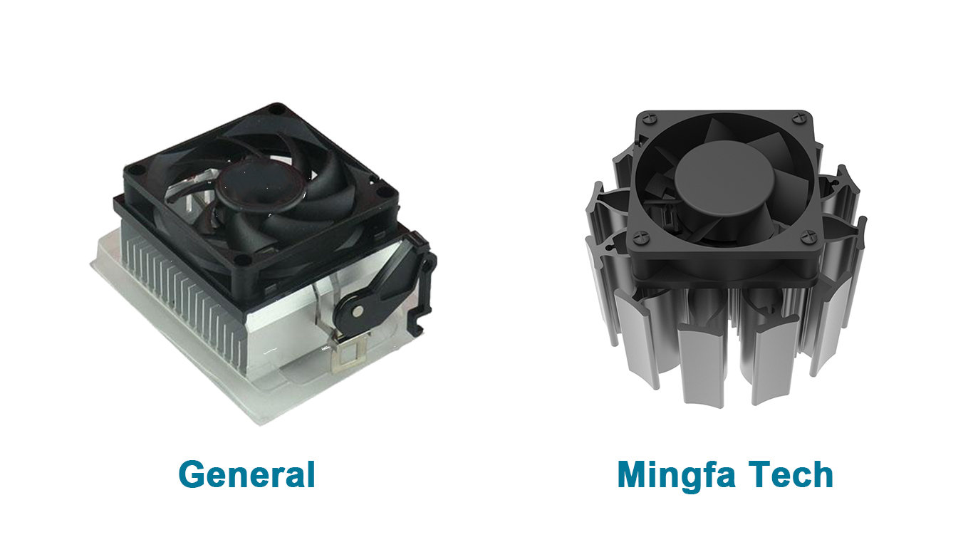 Mingfa Tech white electronic heat sink manufacturer for mall-3