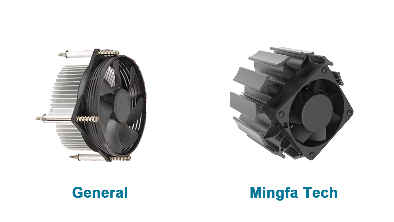 Mingfa Tech white electronic heat sink manufacturer for mall-4