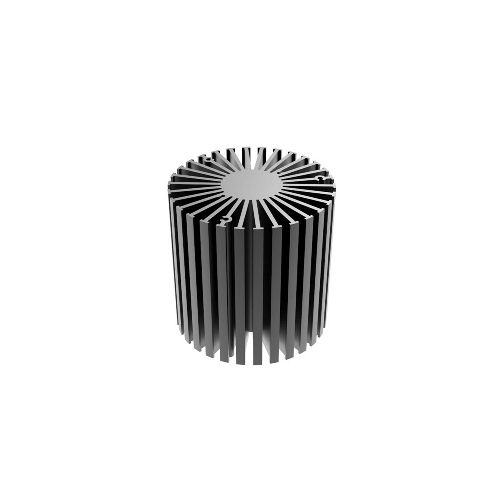 anodized mini heatsink simpoled58505870 design for cabinet-4