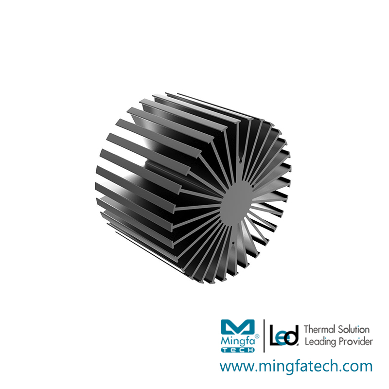 news-Mingfa Tech-Mingfa Tech spinning big heatsink customize for cabinet-img