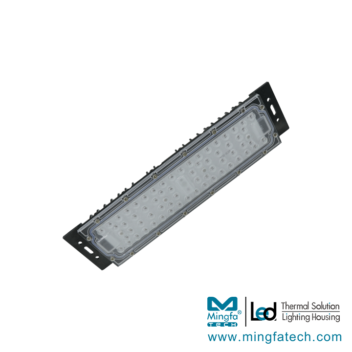 SGT-D252 Graphene-Polymer alloy LED  Street light heatsink Kits