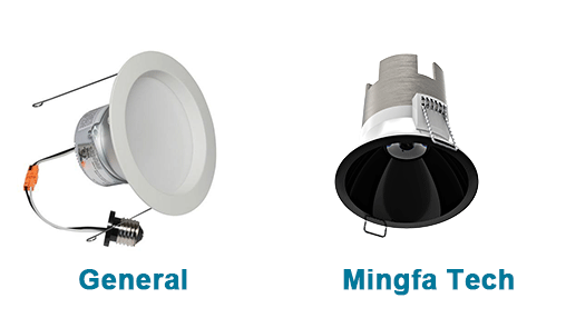Mingfa Tech-Nature -002-lightweight Led Downlight 5w10w Led Lighting Kits For Cob-6