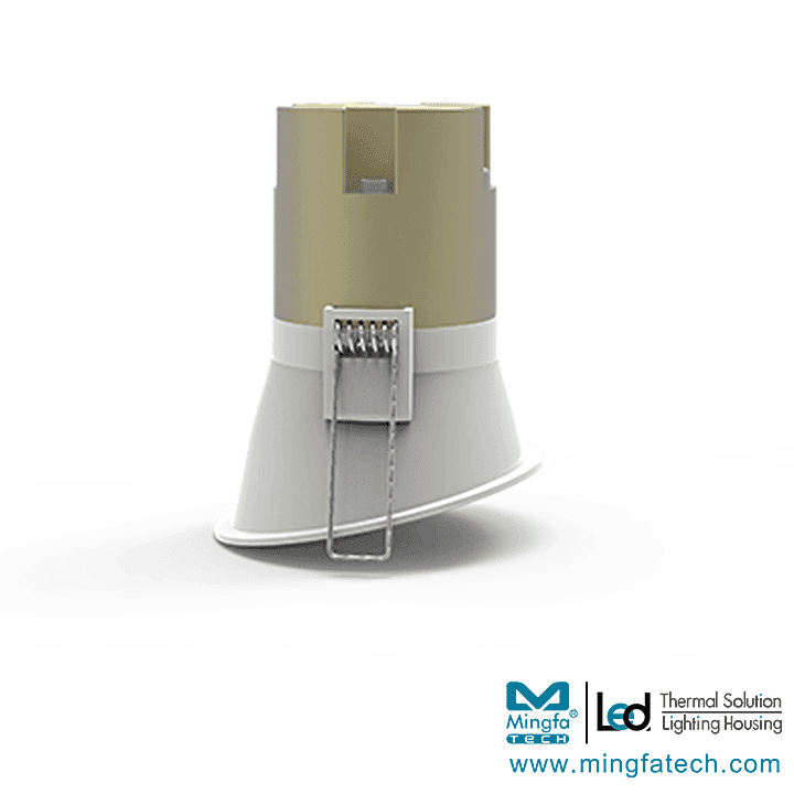 Nature-002X-Lightweight  LED Downlight 5W  LED Lighting Kits for COB  modular