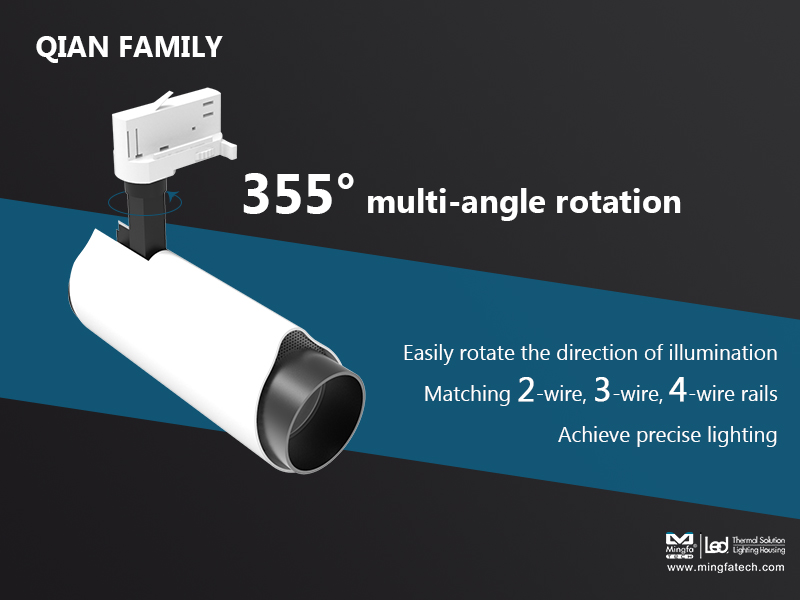 Mingfa Tech-New Product Preview| Mingfa Tech Will Soon Launch Led Track Lighting Housing-3
