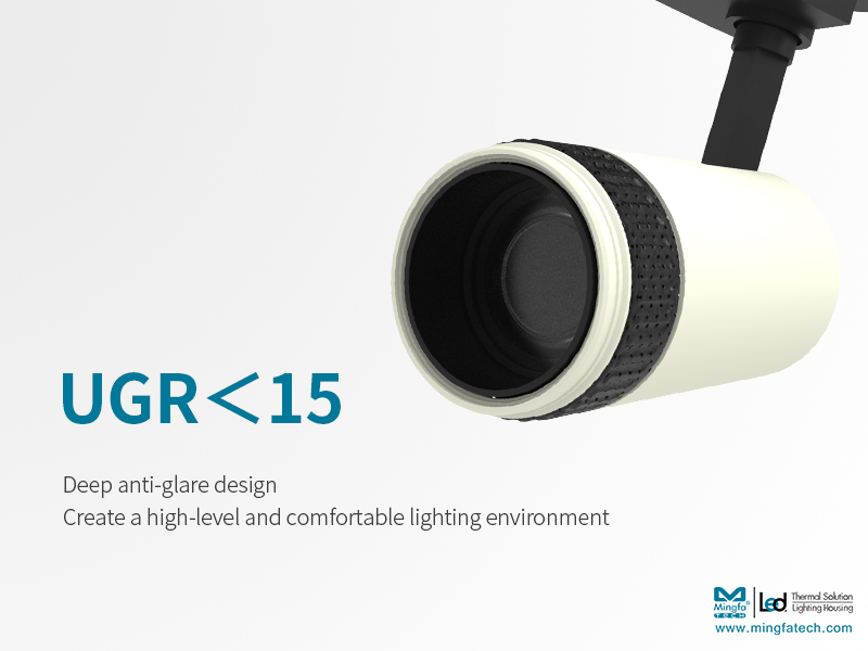 Mingfa Tech-New Product Preview|15-60° Stepless Zoomable Led Track Light - Kun Family-3