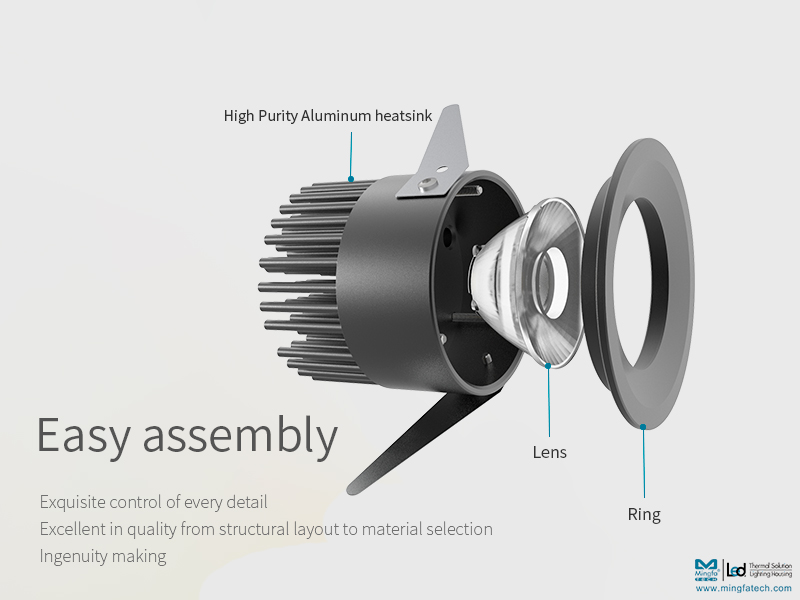 Mingfa Tech-New Product Pre-sale| Exquisite Compact Recessed Led Ceiling Spotlight-meng-5