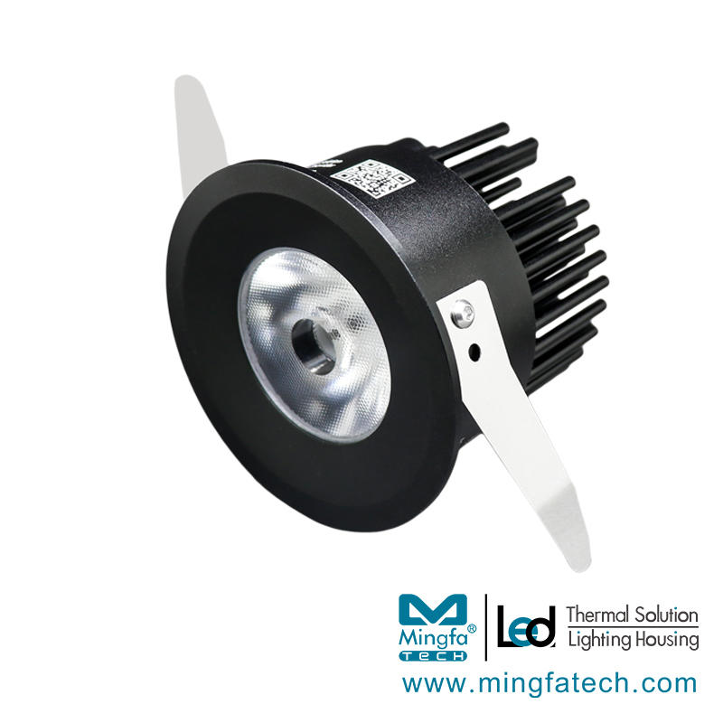 Meng-8055/65 Led Lightweight Recessed Ceiling Spotlights lighting housing