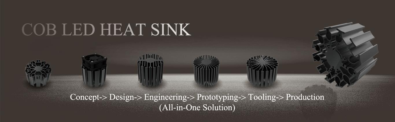 category-cob led heat sink-Mingfa Tech-img-1