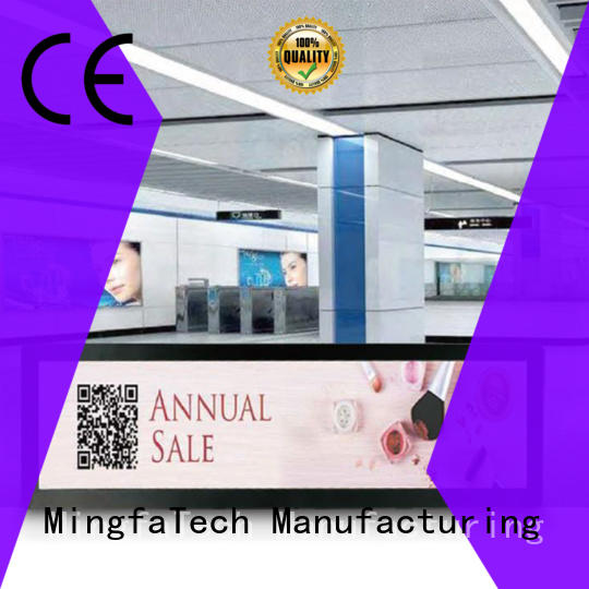 Mingfa Tech approved digital signage personalized for indoor