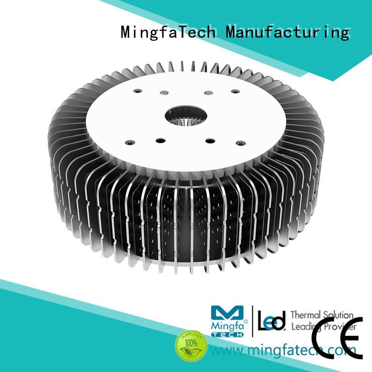 Mingfa Tech area extruded aluminum heatsink design for airport