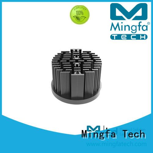 CNC machining heat sink fin design supplier for education