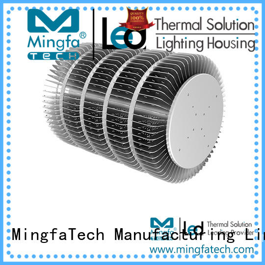 Mingfa Tech architectural extruded aluminum heatsink supplier for station