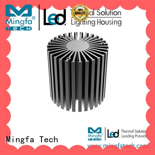 Mingfa Tech anodized big heatsink supplier for cabinet