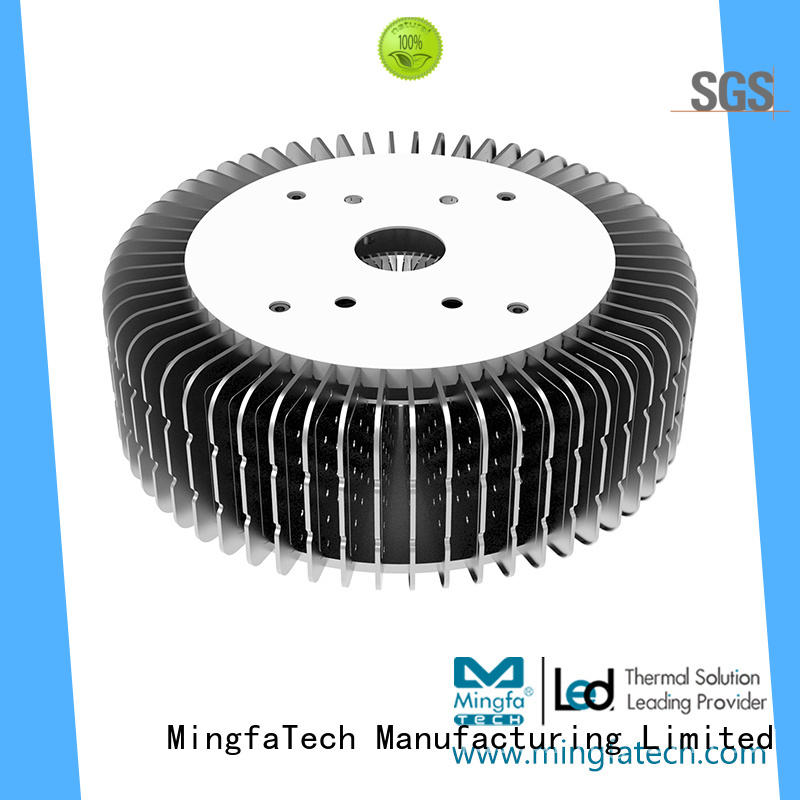 Mingfa Tech large 100 watt led heat sink supplier for airport