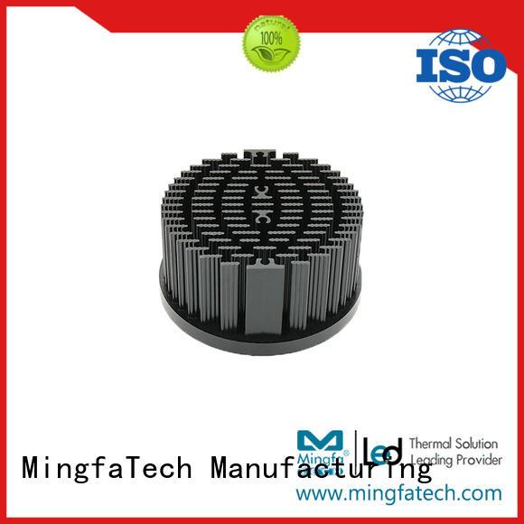 metal stamping resistor heat sink design for horticulture