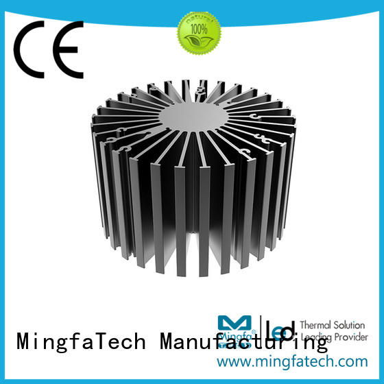 Mingfa Tech spinning large heat sink customize for warehouse