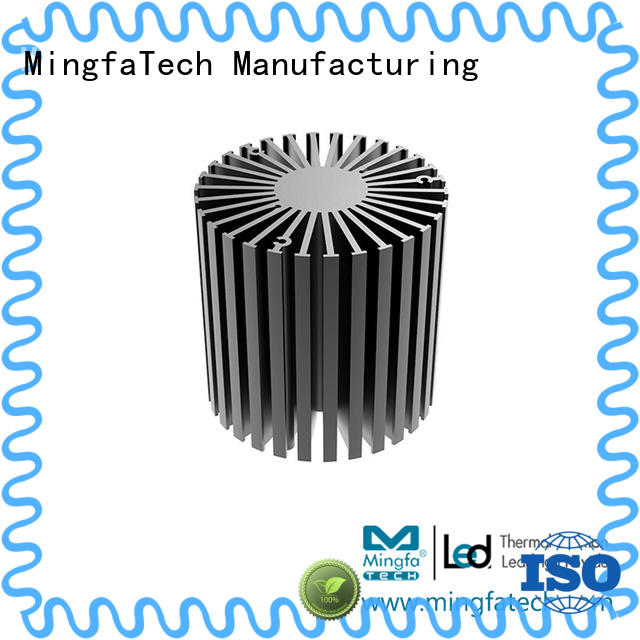 Mingfa Tech black large heat sink design for office