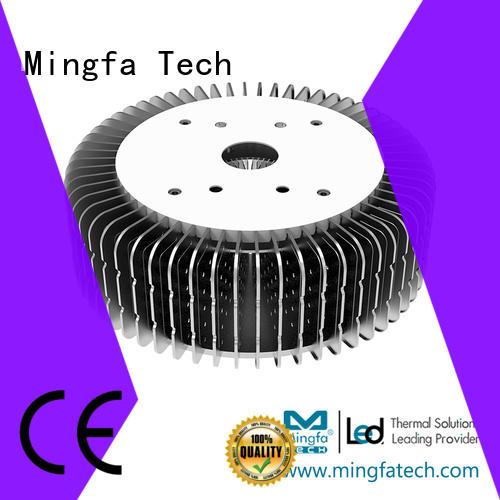Mingfa Tech thermal solution extruded aluminum heatsink manufacturer for indoor