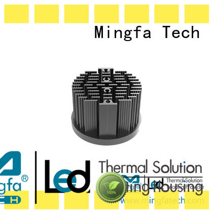Mingfa Tech metal stamping led bulb heat sink fin for mall