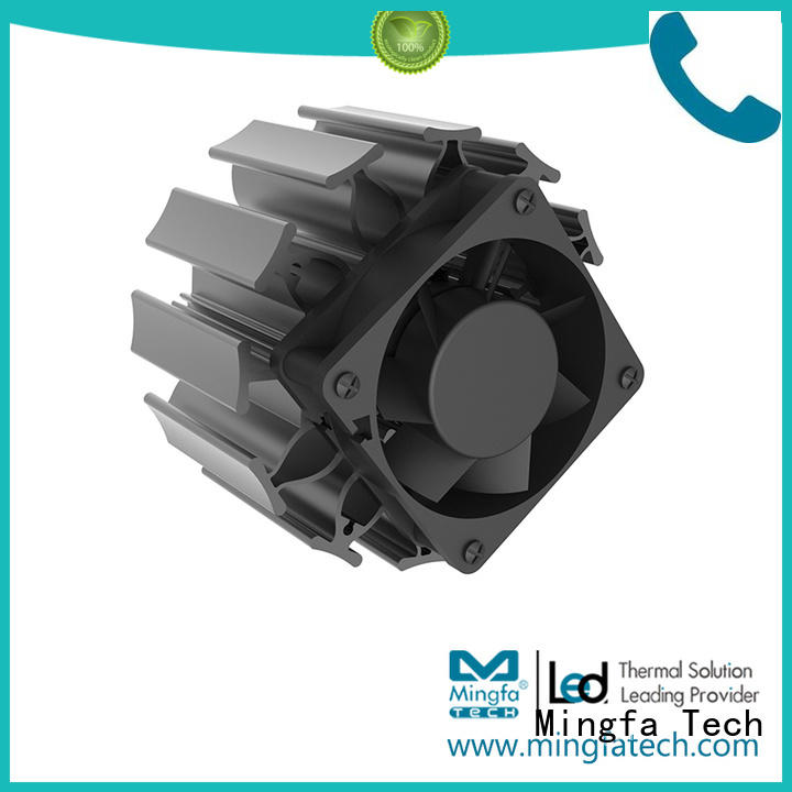 Mingfa Tech Brand cooling aluminum  extruded factory