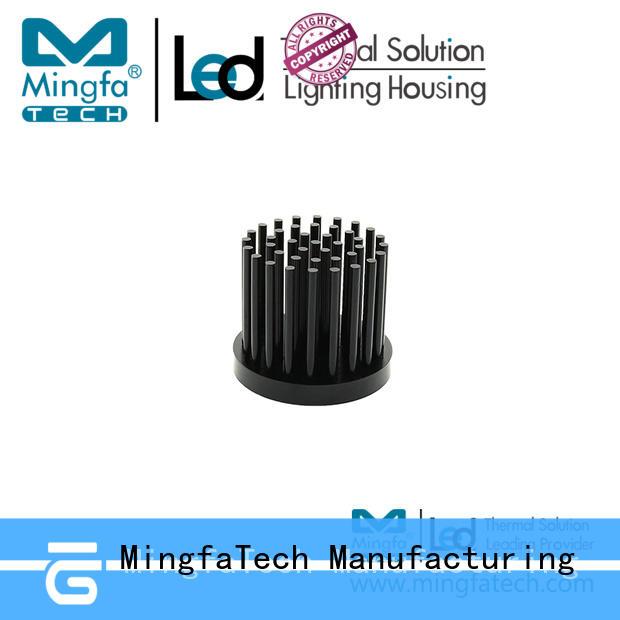 Mingfa Tech forged 10w led heatsink design for parking lot