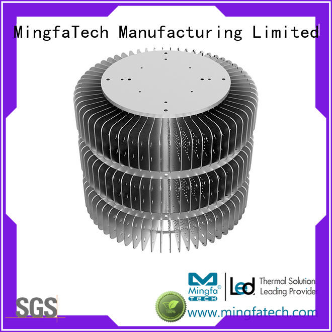 residential led bulb heat sink anodized design for indoor