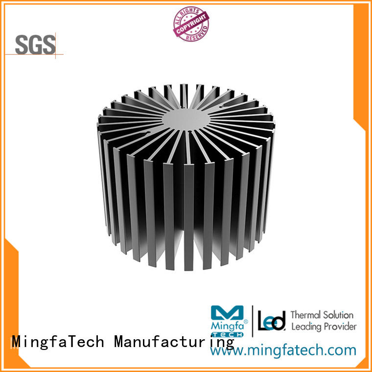 anodized large heat sink aluminum customize for warehouse