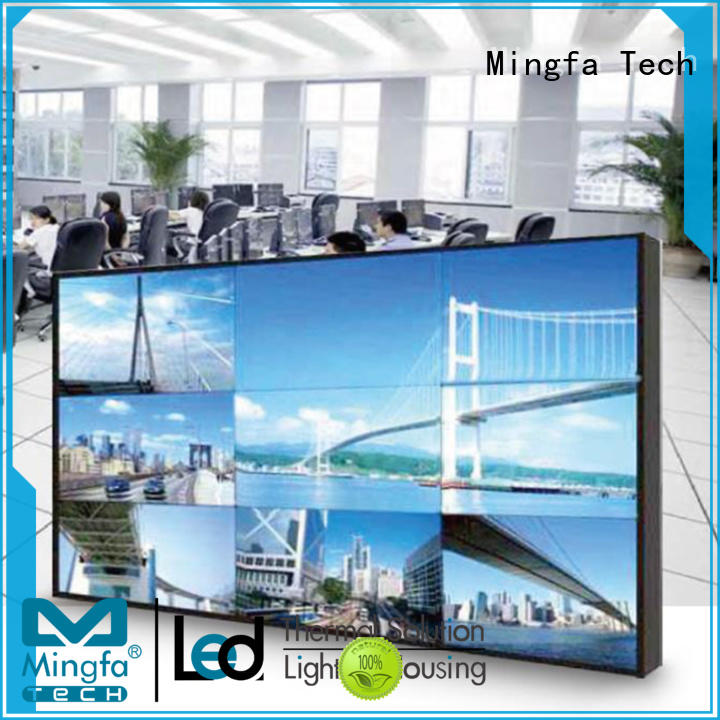 Mingfa Tech hot selling videowall directly sale for station