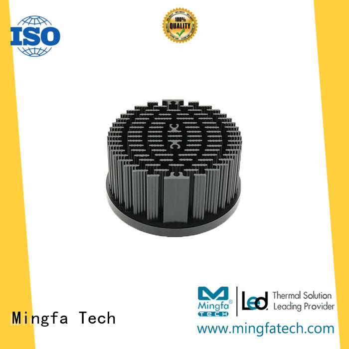 Mingfa Tech coolers aluminium heatsink extrusion supplier for roadway