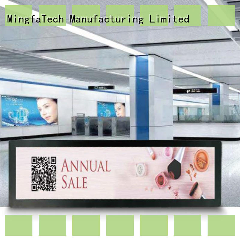 Mingfa Tech elegant lcd signage personalized for airport