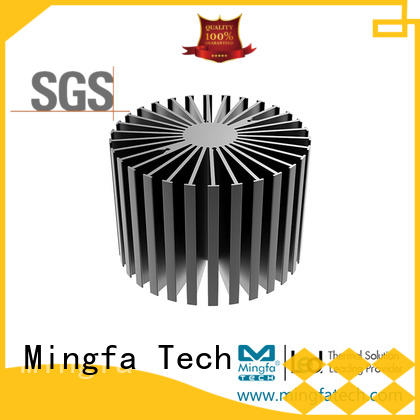 anodized big heatsink design for bedroom Mingfa Tech